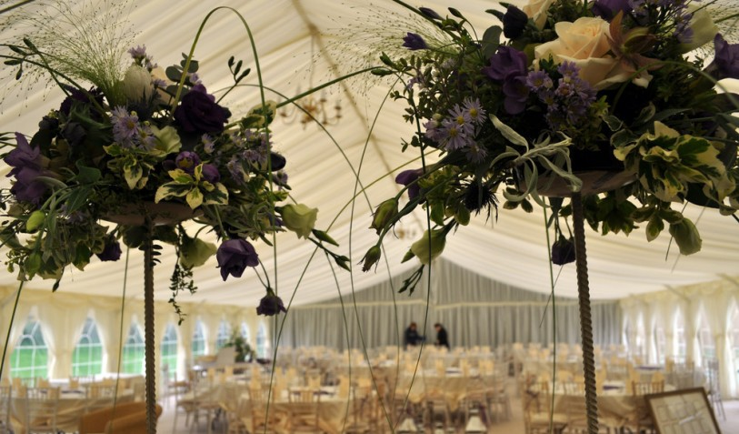 2012 Wedding Marquee 12 x 33m with hidden dance floor