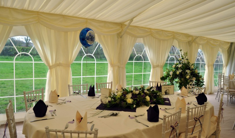 Wedding Marquee May 2012